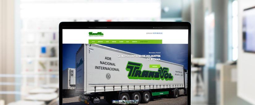 Nueva web Transvol